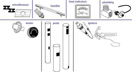 Repair Parts / Ignitors